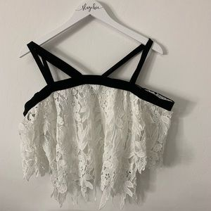 Lacey Cropped Top